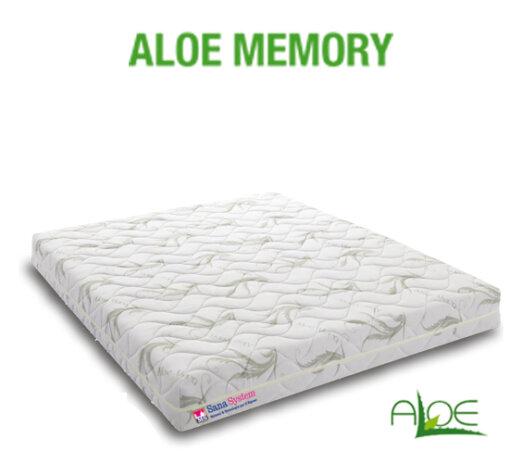 Materasso Aloe Memory Sana System